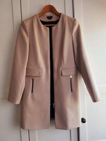 Elegancki płaszcz 34 płaszcz wiosenny płaszcz przejściowy