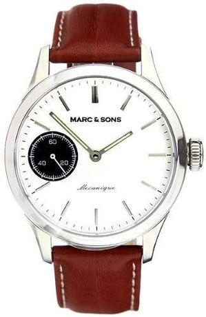 Relógio Marc Sons Germany ETA 6497 Saphire Corda Manual n automático
