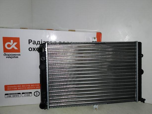 Радиатор охлаждения Ваз 2108,2109,21099 карбюратор