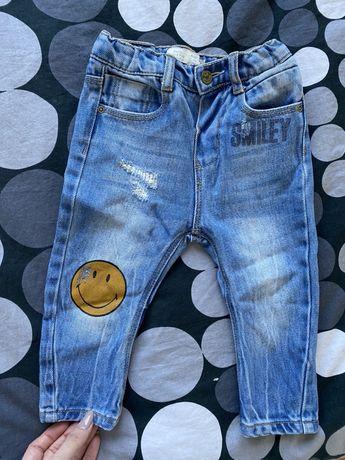 Spodenki jeansy zara 80 nowe