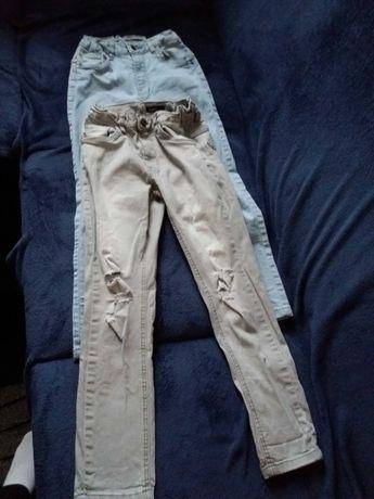 spodnie jeansy 140cm