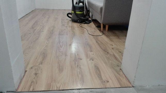 Panele podłogowe używane