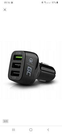Ładowarka samochodowa USB Quick Charge NOWA