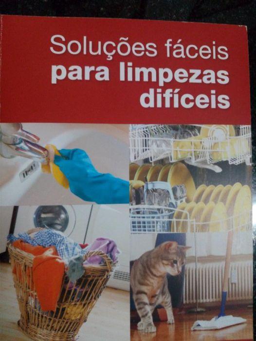 Livro Soluções fáceis para limpezas difíceis Castelo Branco - imagem 1
