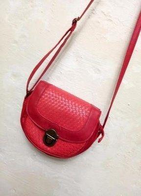 Симпатичная красная мини сумка сумочка mini через плечо кросс-боди.