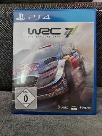 WRC 7 PS4 English stan idealny