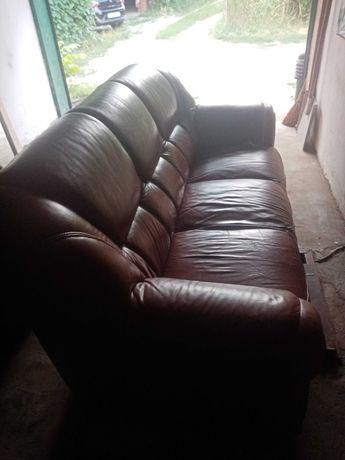 Комплект меблів з еко шкіри