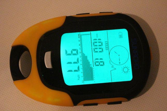 Метеостанція 7в1 SUNROAD FR500 цифровий барометр, компас, висотомір.