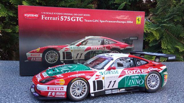 Ferrari 575 GTC 2004 kyosho 1:18