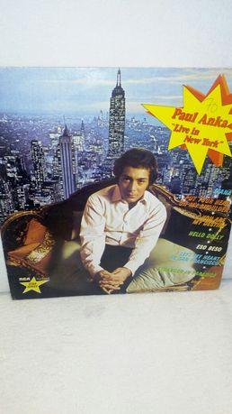 "Paul Anka "" Live in New York""stan Nm"