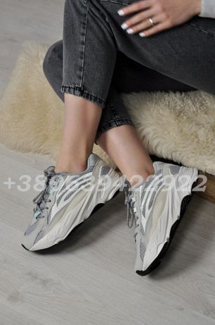 Кроссовки Adidas Yezzy Boost 700 v2 static рефлективные