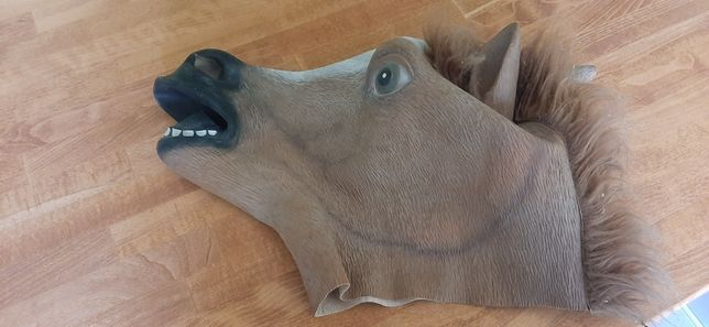 Maska głowa konia