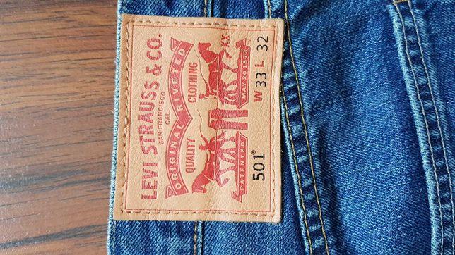 Spodnie Levis 501 jak nowe W33 L32