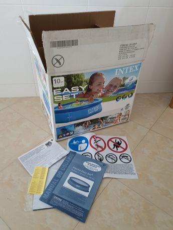 Caixa e manuais de piscina INTEX 305cm