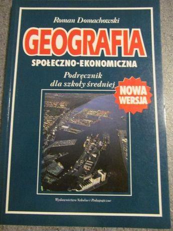 Geografia społeczno - ekonomiczna Roman Domachowski