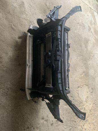 Телевизор комплект радиаторы морда в сборе audi Q7 4l 3.0 TDi