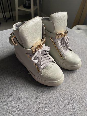 Swietne sneakersy botki lu boo r.35 polecam