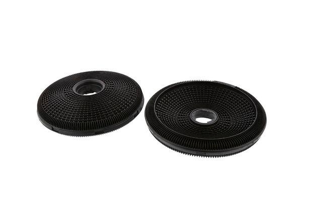 okrągły filtr węglowy okap elektrolux 2 sztuki