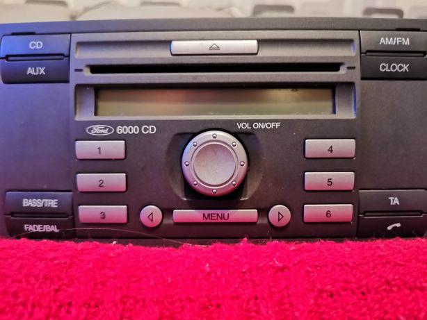 Radio ford fiesta mk6, fokus mk2, transit, fusion