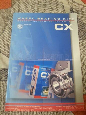 katalog CX - zestawy naprawcze do piast kół