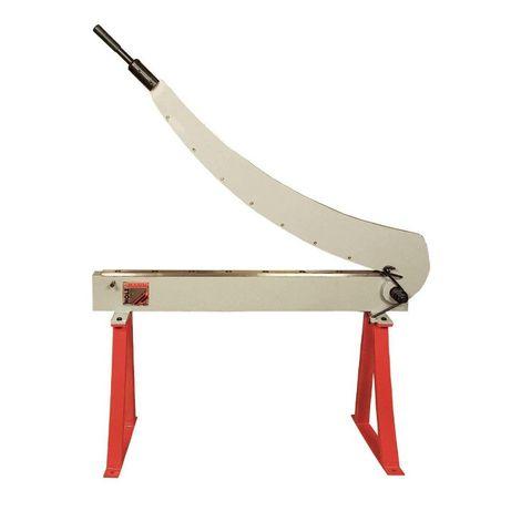 Bacalhoeira / Guilhotina de faca para corte chapa de aço 1,5 mm