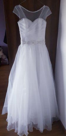 Suknia ślubna r.36 zakupiona w Fasson