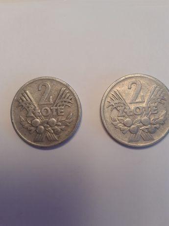 Moneta 2 zl Jagody 1973 rok - 2 sztuki