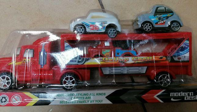 Nowy zestaw samochodów