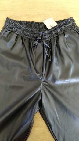 Новые брюки want из эко кожи