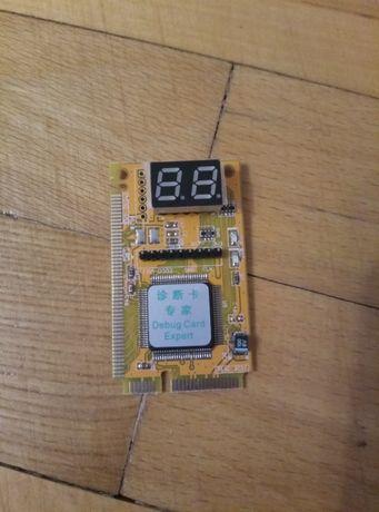 діагностичний адаптер тестер ноутбуків mini PCI LPC