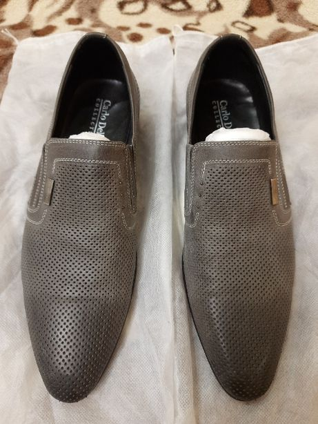Отличные мужские туфли (надевались один раз)