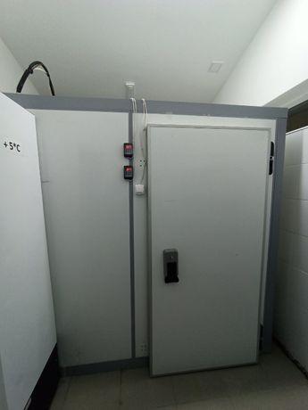 Холодильная камера СЕВЕР 17,6м³ с 2-я компрессорами -5+10°С