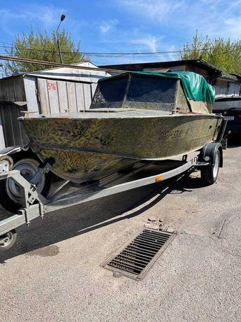Лодка Прогресс-4 + лафет