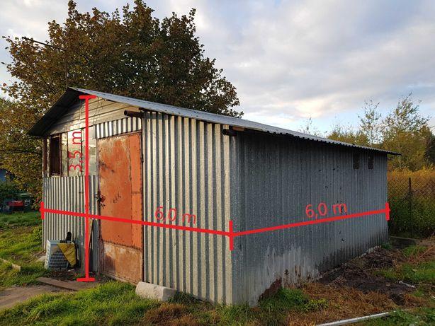 Hala stalowa 6x6x3,5m (magazyn, garaż budowlany)