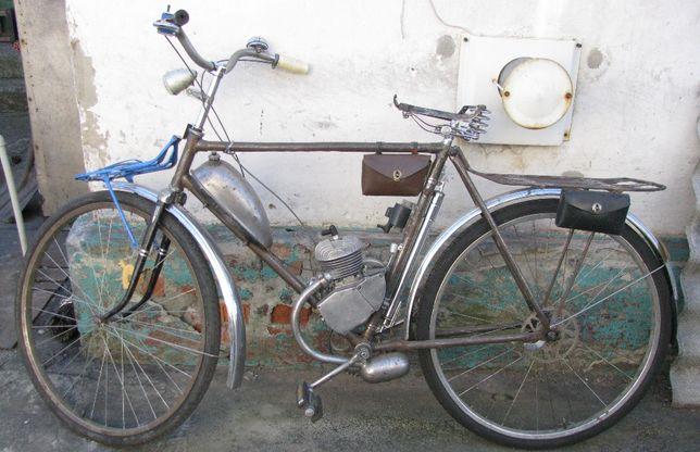 Дырчик на базе велосипеда