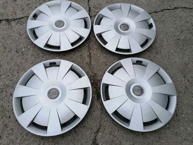 Audi A1_A3 8P,8V_ A4 B6,B7,B8_A6,C5,C6_Q3 Oryginal_Kolpaki Dekle