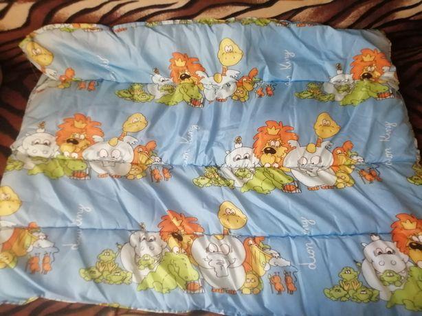 Детское одеяло с подушкой