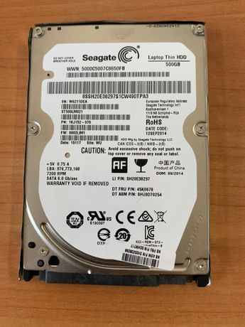 Dyski HDD 500 GB Gwarancja