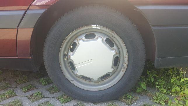 Koła felgi vw volkswagen stal Opony jak nowe vredestein M+S 185/65 14