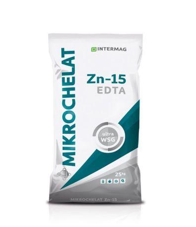 Mikrochelat Zn-15 worek 25kg cynk chelat INTERMAG wysyłka