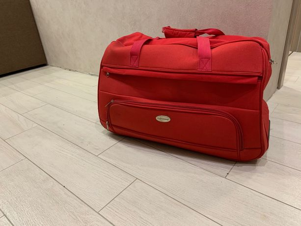 Дорожная Сумка чемодан на колесиках lambertazzi