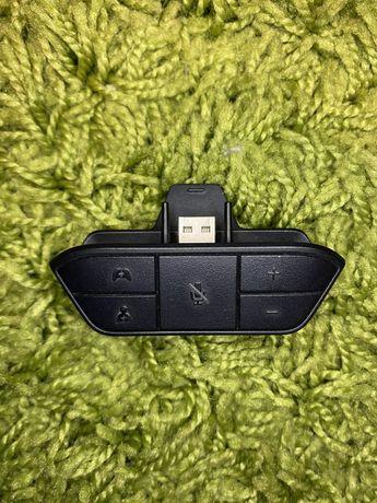 Adapter sluchawkowy do pada (xbox one).  Pad, xbox one, gry, sluchawki