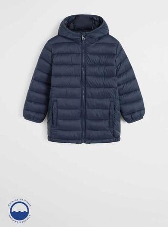 Стёганая легкая куртка для мальчика, непромокаемая, анорак, Манго