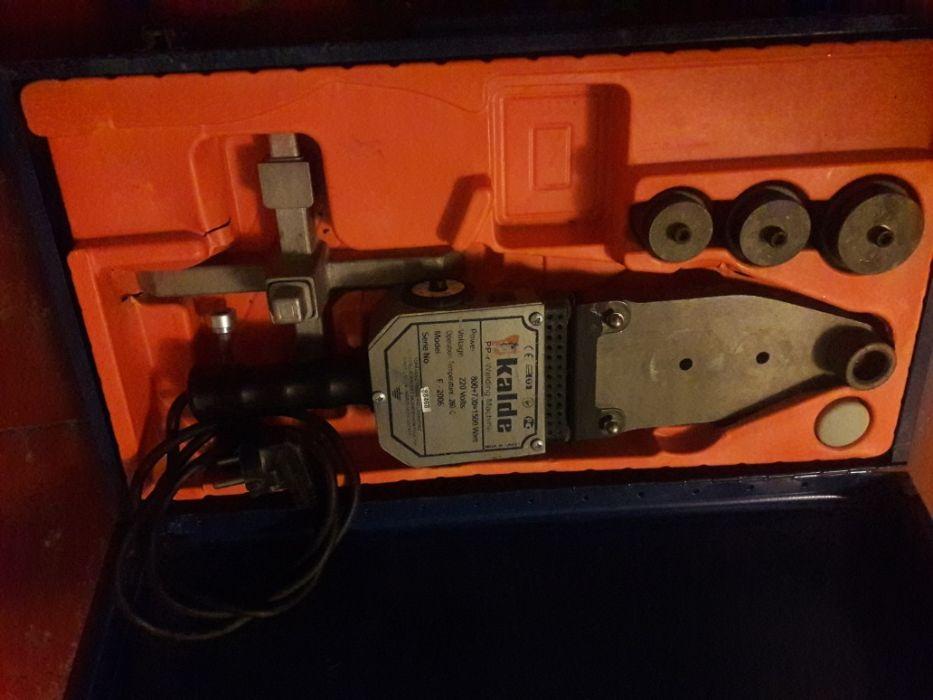 мощный турецкий паяльник для пластиковых труб сантехника Калде 1.500 В Харьков - изображение 1