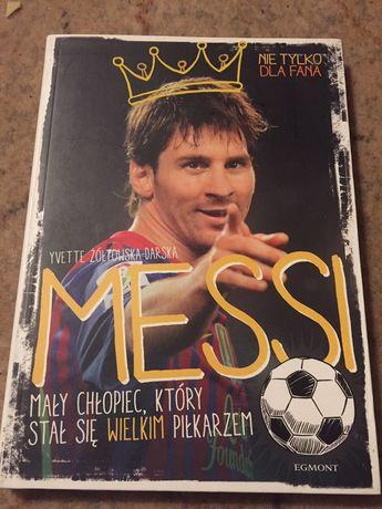 Messi , mały chłopiec , który stał się piłkarzem