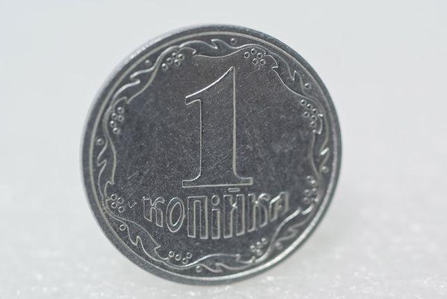 Монета 1 копейка 2000г. Украина