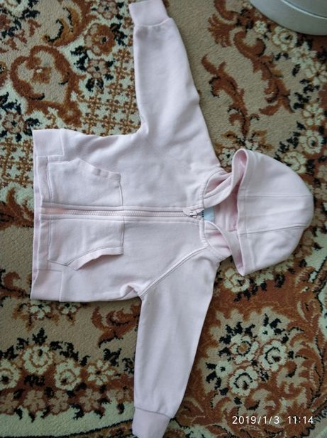 R. 80 bluza Reserved różowa