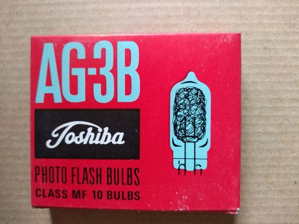 NOVAS 10 x Lâmpadas Foto Flash AG-3B marca TOSHIBA