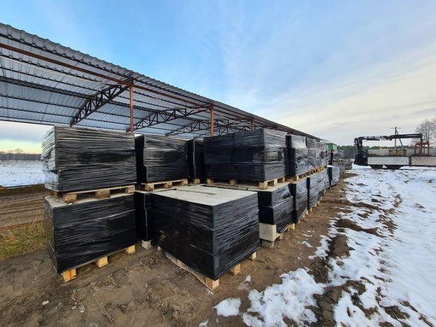 Bloczki betonowe fundamentowe wibroprasowane / Transport HDS / Cement