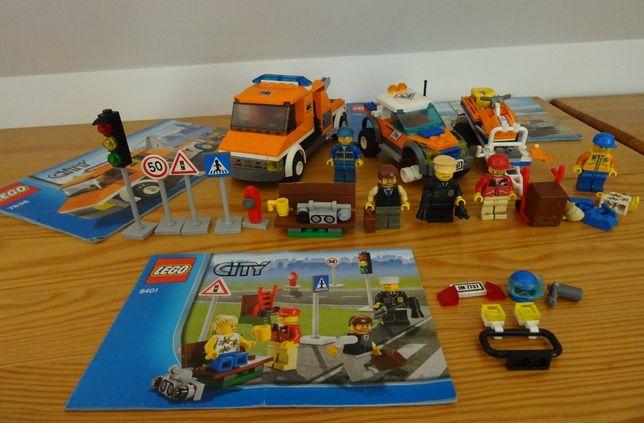 Lego city trzy zestawy holownik, ratownik i miasto (7638, 7737 i 8401)
